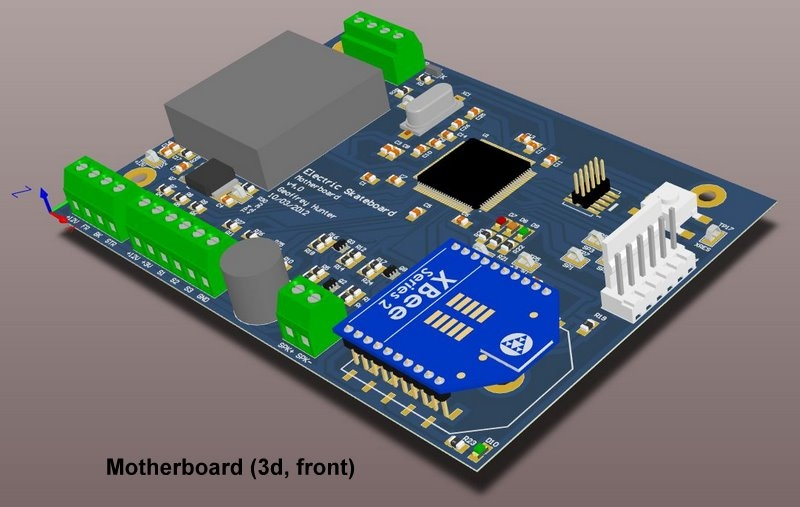 Board 3d front