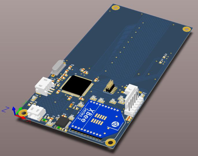 Remote 3d pcb layout
