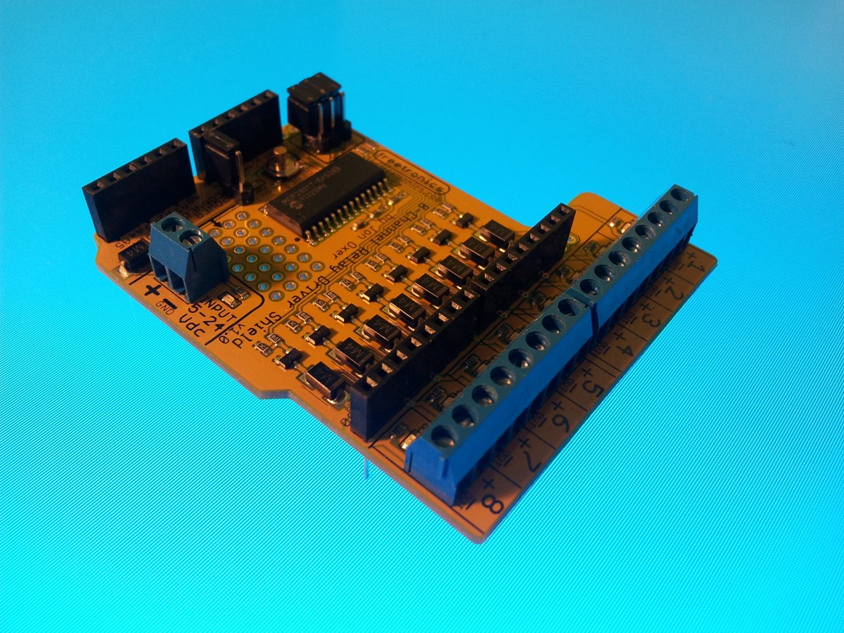 Arduino 8 ch relay channel 02