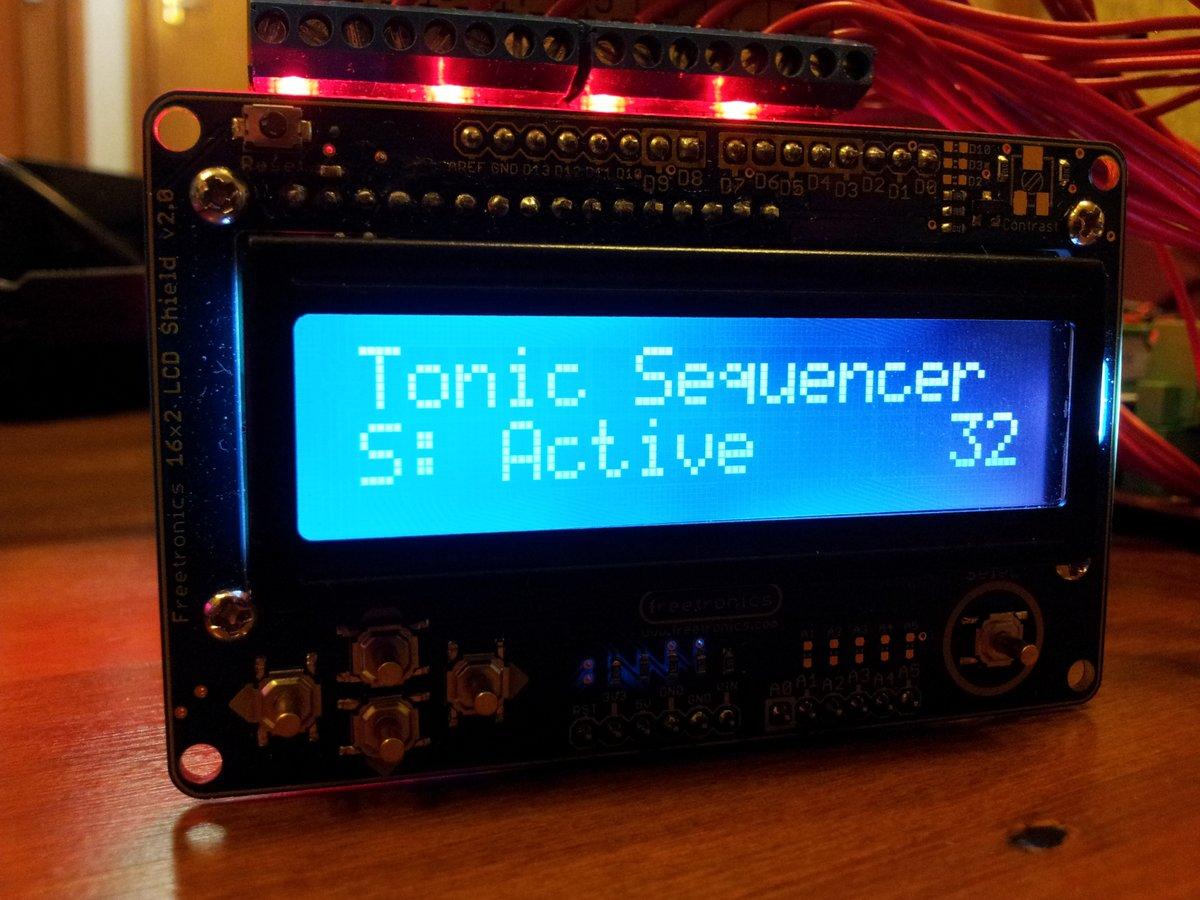 Lcd screen tonic active