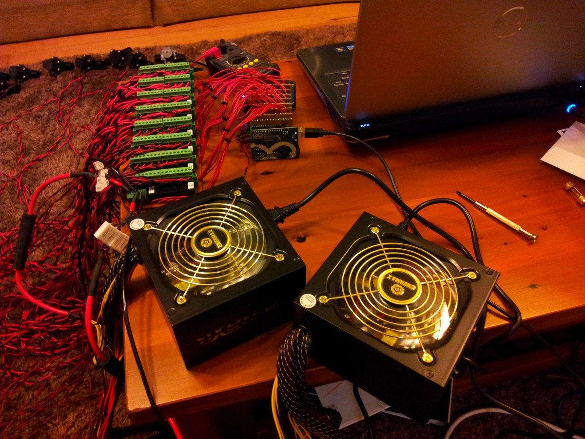 Twin power supplies