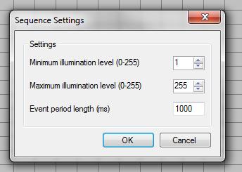 Vixen tonic general sequence settings