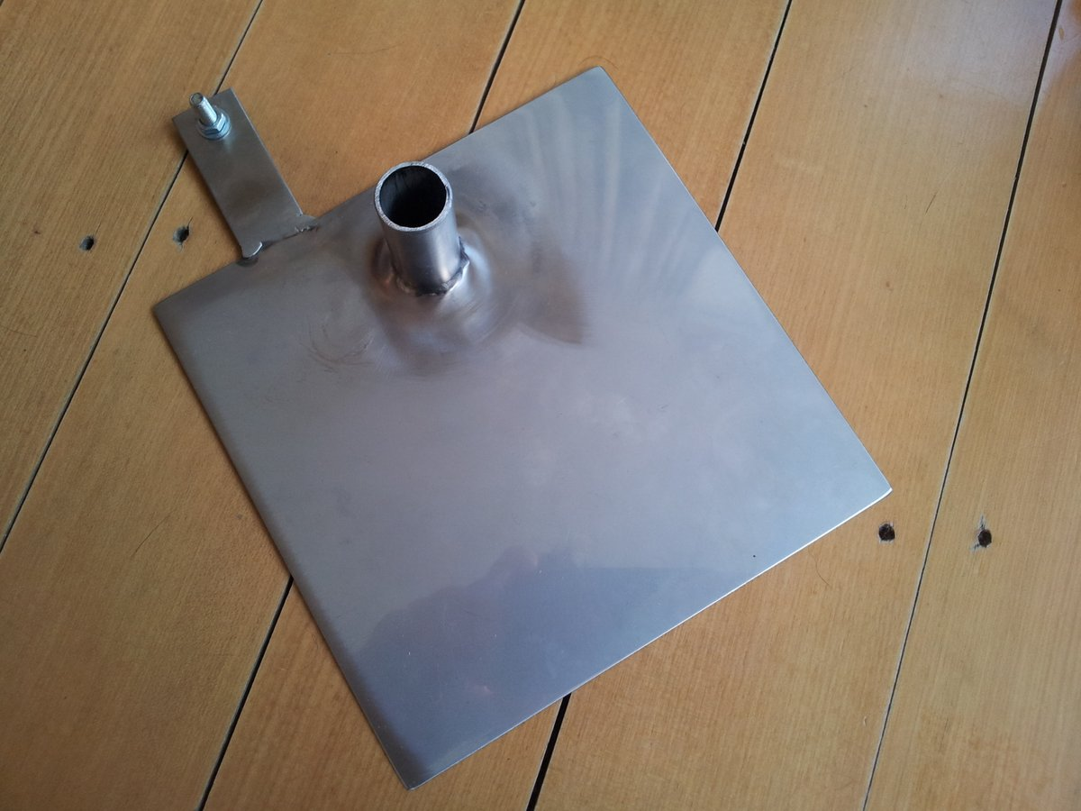 Fuel cell entry exit plate