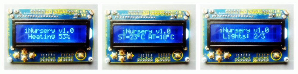 Inursery lcd screen collage