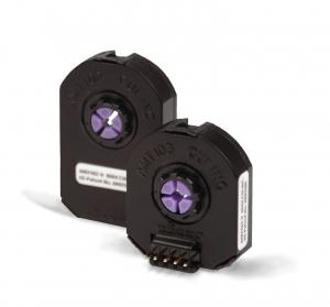 The CUI AMT100 series capacitive encoders with up to 2048 counts per revolution. Image from http://www.engineerlive.com/Asia-Pacific-Engineer/Time_Compression/Capacitive_encoder_offers_versatility/22119/.