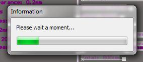 The annoying 'Please Wait A Moment' dialogue box that appears sometime while using Altium.