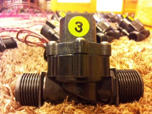 Numbering the solenoids...