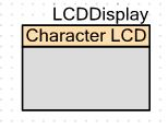 The PSoC Character LCD component. Not much to it right?