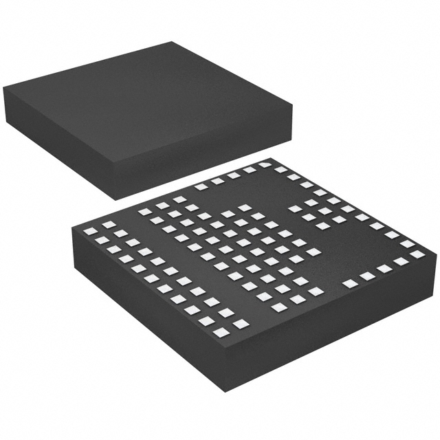 A 3D render of the LGA component package.