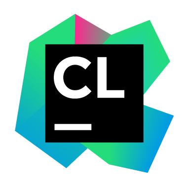 The CLion logo.