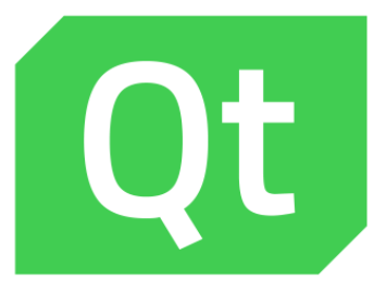 The QT (pronounced 'cute') logo.
