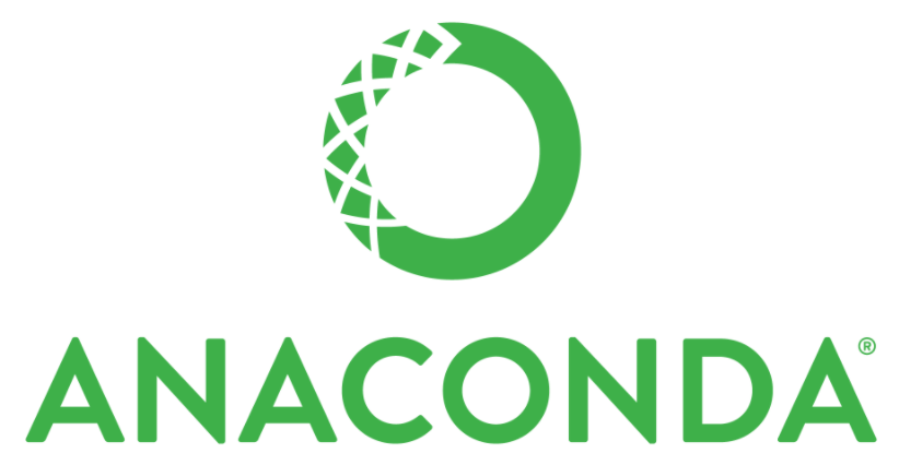 The logo for Anaconda (Python distribution/environment).