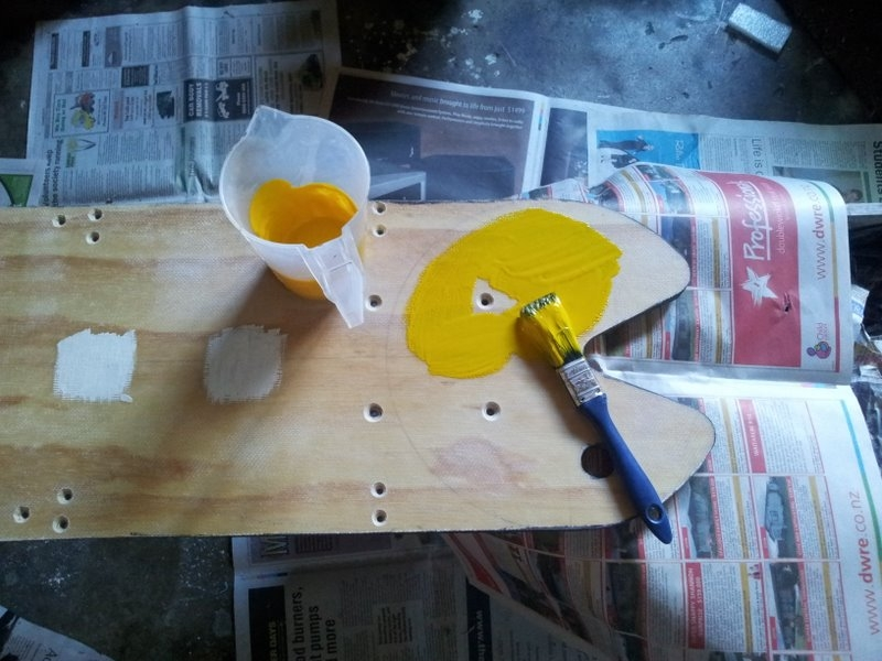 Painting pac-man.