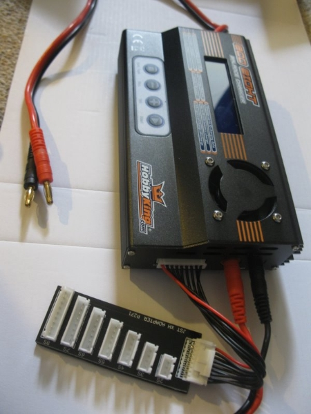 A multi-chemistry battery charger from Hobby King.