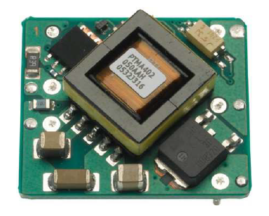 The PTMA401120 DC/DC converter module from Texas Instruments. This can convert anything from 36 to 72V down to 12V with a 1A output.
