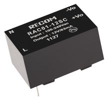 A Recom AC/DC converter module that can take 100-240VAC as it's input and outputs 12V at up to 83mA.