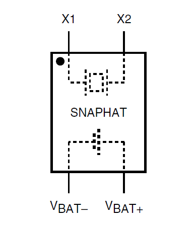 The schematic for the SnapHat component package.