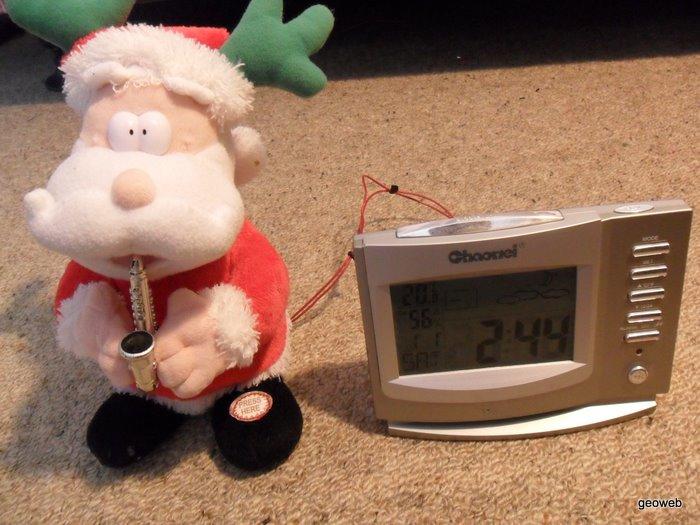Santa alarm 09