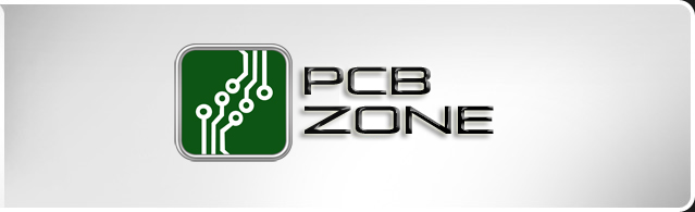 The PCB Zone logo.