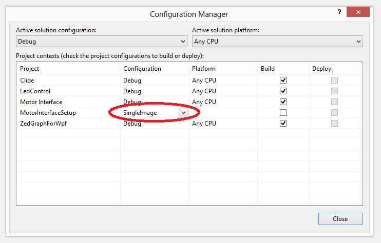 Making InstallShield produce a single file output install (e.g. setup.exe) in the Visual Studio configuration manager.