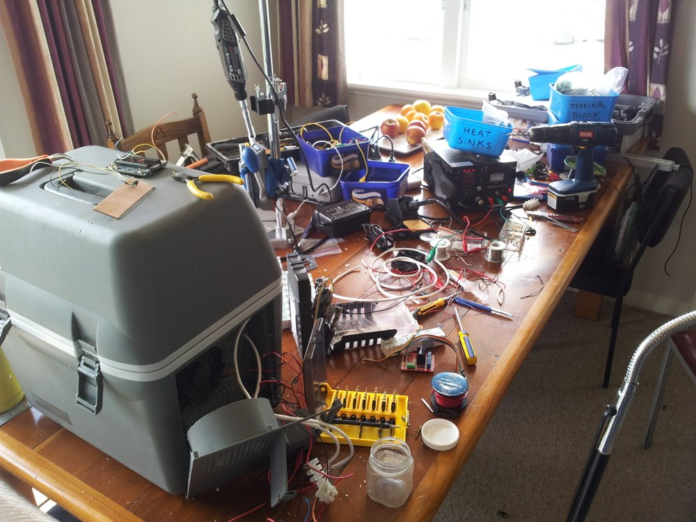 022 messy workbench