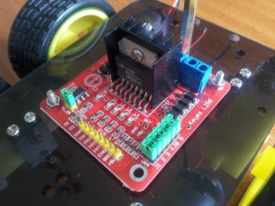 The controller for a Arduino 4WD robot.
