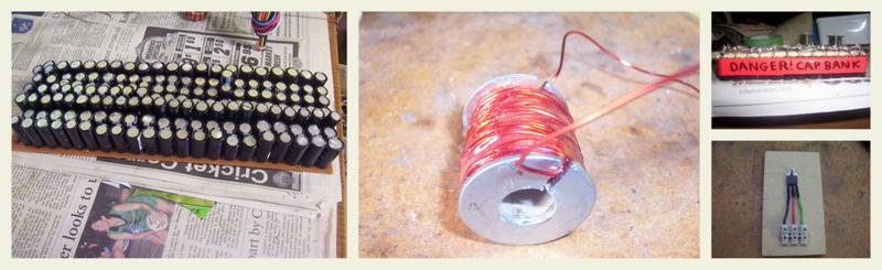Banner image relating to the coil gun I made.